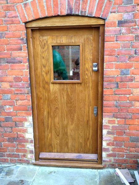 Doors fitted in milton keynes area heath carpentry for Wooden front doors fitted